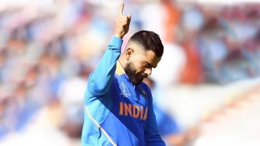 Virat Kohli Happy With India's Winning Streak in ICC Cricket World Cup 2019, Shares Motivating Pic on Twitter