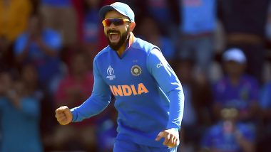 Virat Kohli Roars in Delight As Jasprit Bumrah Brings India Back Into Contest With Double-Wicket Maiden Over Against Afghanistan, Watch Video