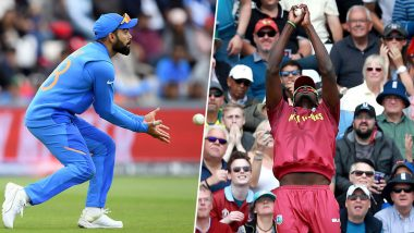 IND vs WI, ICC CWC 2019 Toss Report & Playing 11: India Captain Virat Kohli Wins Toss, Elects to Bat First