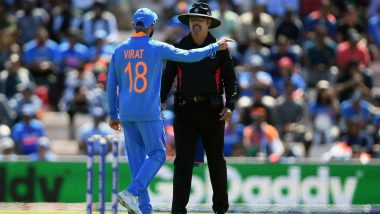 Virat Kohli Fined for Excessive Appealing During India vs Afghanistan Match in ICC Cricket World Cup 2019
