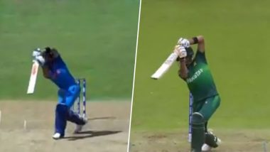 Virat Kohli vs Babar Azam, Who Plays the Cover Drive Better? ICC Wants Your Opinion, Watch Video