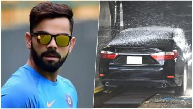 Virat Kohli Uses Drinking Water To Wash Cars Gets Fined Rs