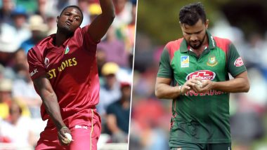 WI vs BAN Head-to-Head Record: Ahead of ICC CWC 2019 Clash, Here Are Match Results of Last 5 West Indies vs Bangladesh Encounters!