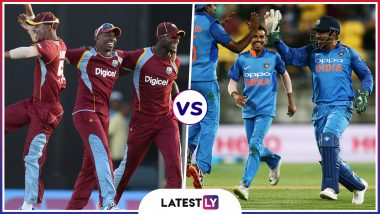 IND vs WI Head To-Head Record: Ahead of ICC CWC 2019 Clash, Here Are Match Results of Last 5 India vs West Indies Encounters!