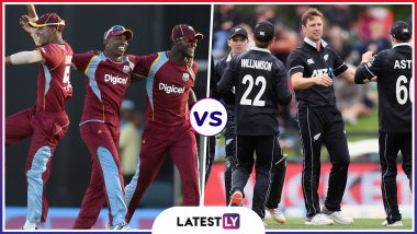 WI vs NZ Head-to-Head Record: Ahead of ICC Cricket World Cup 2019 Clash, Here Are Match Results of Last 5 West Indies vs New Zealand Encounters!