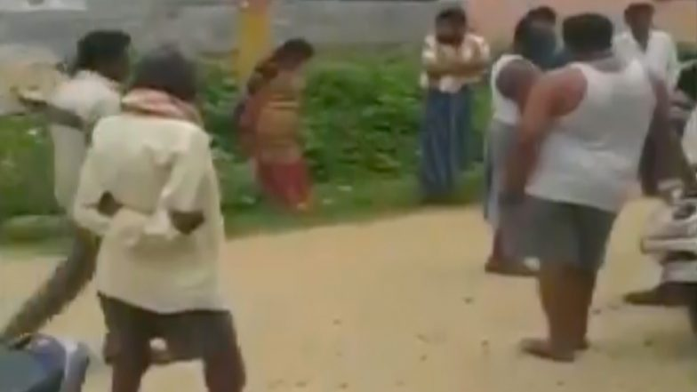 Bengaluru: Woman Tied to Pole, Thrashed by Kodigehalli Villagers For Not Returning Loan, 7 Held