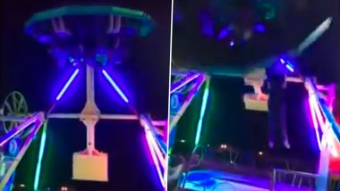 Woman Falls off Amusement Park Ride in Mexico; Horrific Video Goes Viral