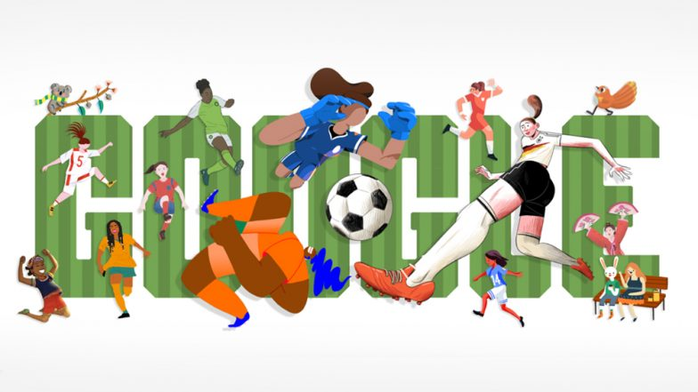 Women's Football World Cup 2019: Google Kicks Off the FIFA Tournament With a Spirited Doodle