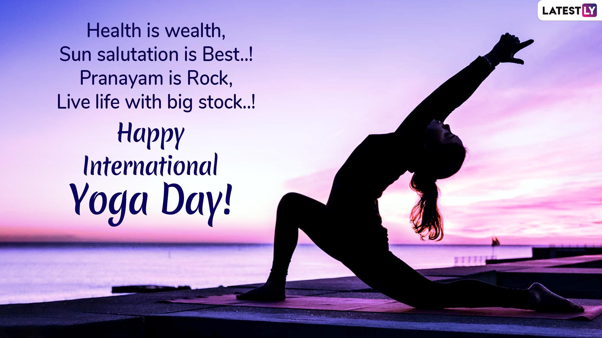 Quote Happy International Yoga Day Quote