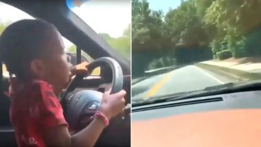 American Rapper Young Thug Criticised After Video of Minor Daughter Allegedly Driving Car Goes Viral