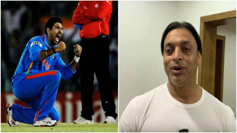 Yuvraj Singh is a Rock Star, a Match Winner and a Good Friend Who Will Be Remembered For Years, Says Shoaib Akhtar (Watch Video)
