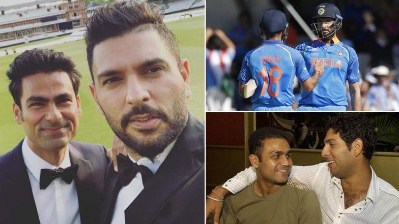 Yuvraj Singh Retires: From Virat Kohli to Virender Sehwag Former Teammates Wish Yuvi All the Best for Life Post Retirement