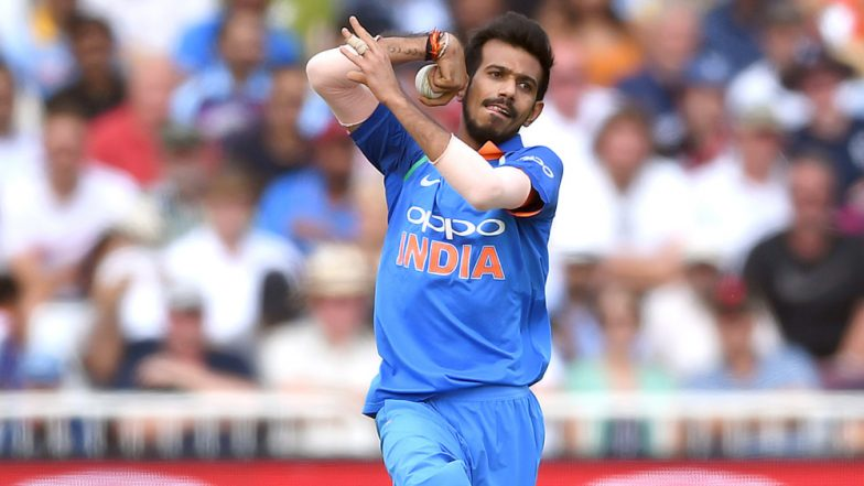 Yuzvendra Chahal Gets Faf du Plessis, Takes 2 Wickets in One Over During IND v SA, ICC Cricket World Cup 2019 Match; Watch Video