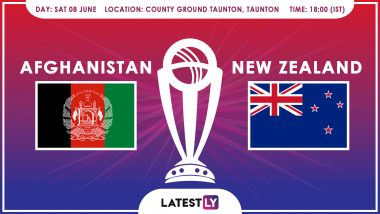 Afghanistan vs New Zealand, ICC Cricket World Cup 2019 Match Preview: On-Song NZ Look for Hat-Trick of Wins Against AFG