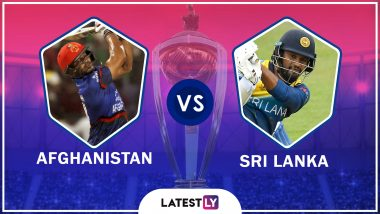 Afghanistan vs Sri Lanka Highlights of ICC World Cup 2019 Match: Sri Lanka Defeats Afghanistan by 34 Runs
