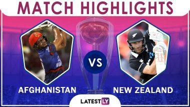 AFG vs NZ: Kane Williamson & Men Register Seven Wicket Victory in a Low-Scoring Tie