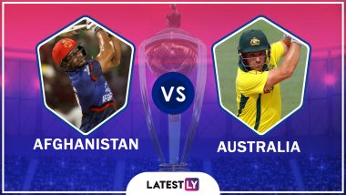 Afghanistan vs Australia, Highlights of ICC World Cup 2019 : AUS Beats AFG by Seven Wickets