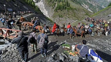 Amarnath Yatra 2019: 14th Batch of 5,210 Pilgrims Leave Jammu