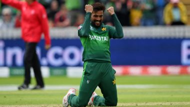Mohammad Amir Registers Career-Best Figures Against Australia in CWC 2019 Match; David Warner Praises the Bowler