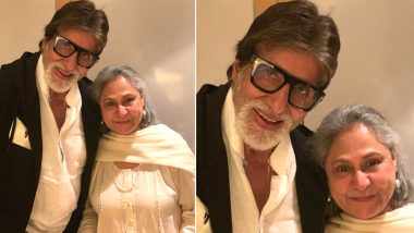 Amitabh Bachchan and Jaya Celebrate 46th Wedding Anniversary; Son Abhishek Shares a Happy Pic of the Couple