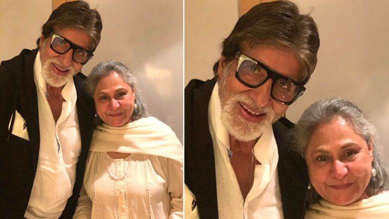 Amitabh Bachchan and Jaya Celebrate 46th Wedding Anniversary; Son Abhishek Shares a Happy Pic of the Couple