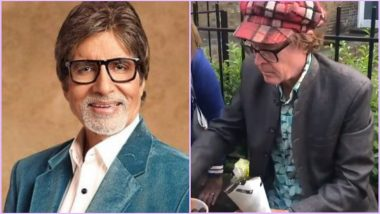 Amitabh Bachchan Tweets Video of White Man Selling Desi Style Bhel Outside Oval Stadium During India vs Australia CWC 2019 Match