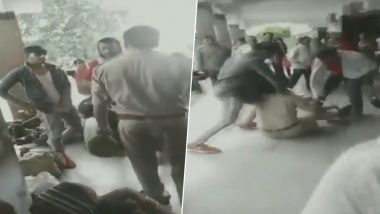 Uttar Pradesh: 2 Arrested in Deoria For Thrashing Railway Police Official; Assault Video Goes Viral