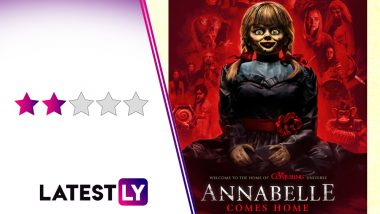 Annabelle Comes Home Movie Review: Too Many Ghosts Spoil the Broth