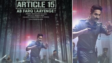 Ayushmann Khurrana's Article 15: Know the Cast, Story, Budget, Box office Prediction & Review