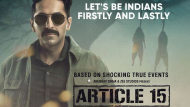 'Article 15' Screening Stopped in Uttarakhand's Roorkee