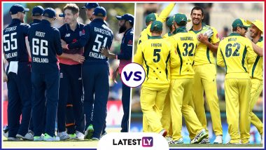 ENG vs AUS - Head to-Head Record: Ahead of ICC CWC 2019 Clash, Here Are Match Results of Last 5 England vs Australia Encounters!