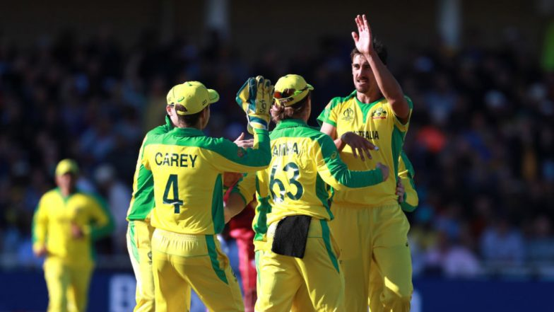 Australia vs West Indies, ICC CWC 2019 Stat Highlights: Mitchell Starc, Nathan Coulter-Nile Shine As AUS Beat WI by 15 Runs