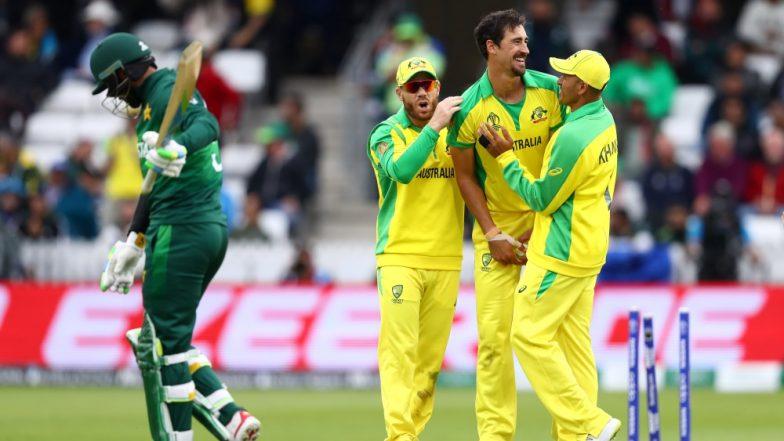 Australia vs Pakistan, CWC 2019 Stat Highlights: Aaron Finch & Men Get Back to Winning Ways as they Beat Pak by 41 Runs