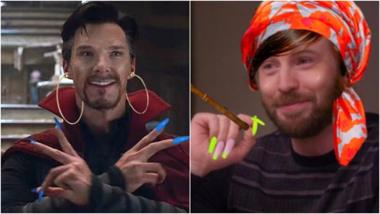 Avengers With Acrylic Nails Become Hilarious Twitter Memes! Thank Chris Evans For Starting Them