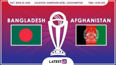 Bangladesh vs Afghanistan, ICC Cricket World Cup 2019 Match Preview: AFG Aim for Maiden Win Against BAN at Rose Bowl Cricket Stadium