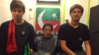 Pakistan PM Imran Khan's Son Sulaiman Khan at Lord's to Watch Pak vs SA ICC Cricket World Cup 2019 Clash
