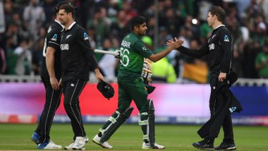 Pakistan vs New Zealand, ICC CWC 2019 Stat Highlights: Babar Azam Century Takes Pakistan to 6-Wicket Win Over Kiwis