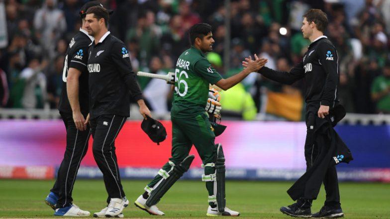 Pakistan vs New Zealand, ICC CWC 2019 Stat Highlights: Babar Azam Century Takes Pakistan to 6-Wicket Win Over Kiwis