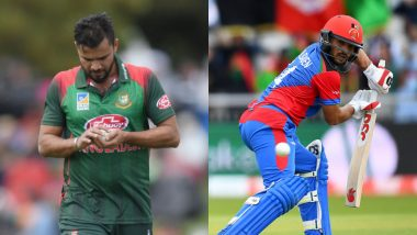 Bangladesh vs Afghanistan Betting Odds: Free Bet Odds, Predictions and Favourites During BAN vs AFG in ICC Cricket World Cup 2019 Match 31