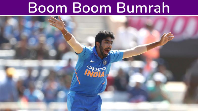 Boom Boom Bumrah at ICC Cricket World Cup 2019! Jasprit Bumrah Delivers Early Blows to South Africa in IND vs SA Match