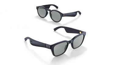 Bose Frames AR Audio Sunglasses Launched in India at Rs 21,900; To Go on Sale on June 20