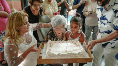 Cuban Woman Celebrates 102nd Birthday With Friends And Family, Aims to Live Till 120