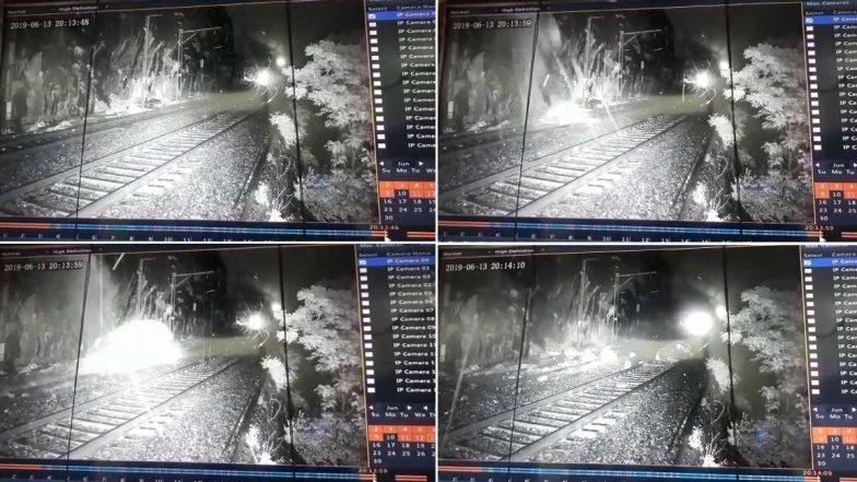 Lonavala: Train Accident Averted On Mumbai-Pune Route Due To CCTV Cameras