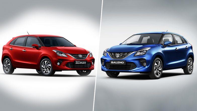 Toyota Glanza Vs Maruti Baleno India Prices Features Colours