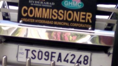 Hyderabad: Called Out by Netizen, Municipal Corporation Pays Fine on Commissioner's Vehicle