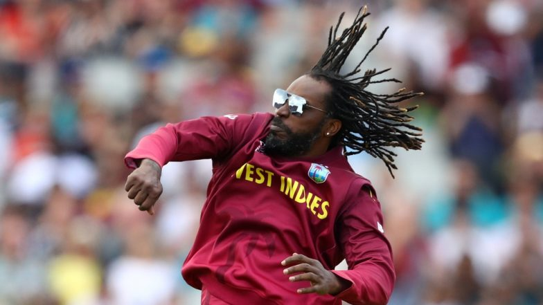 Chris Gayle Wins Internet With His 'Swag' After The Universe Boss Dives To Stop The Ball During IND vs WI CWC 2019 Match; Virat Kohli Is Impressed Too! (Watch Video)