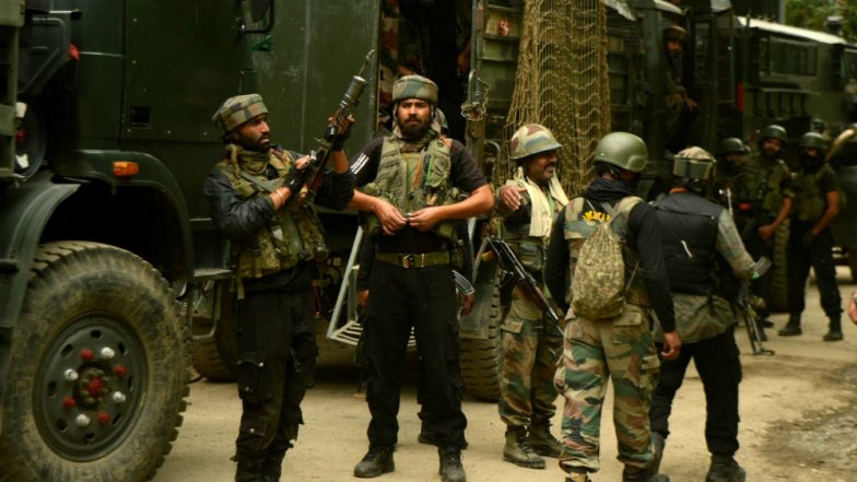 Jammu and Kashmir: Four Terrorists Gunned Down by Security Forces in Pulwama Encounter