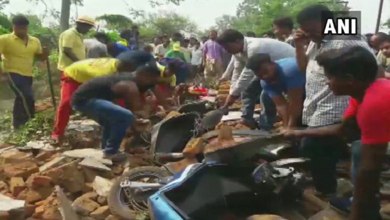 Odisha: 4 Dead, 5 Injured After Wall of Rice Mill Collapses in Dhenkanal Near Alasua Market