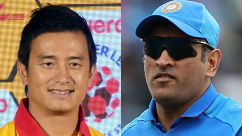 Bhaichung Bhutia 'Slams' MS Dhoni Following Army Insignia Gloves Controversy, Says Wicket-Keeper Should Respect the Sport