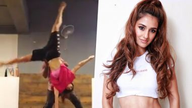 Disha Patani's Acrobatic Cartwheel With One Hand Makes Us Tag Her As Bollywood's Fitness Queen – Watch Video